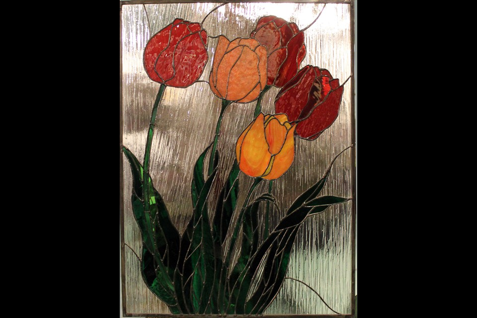 Tulips by Jeanette Pegg