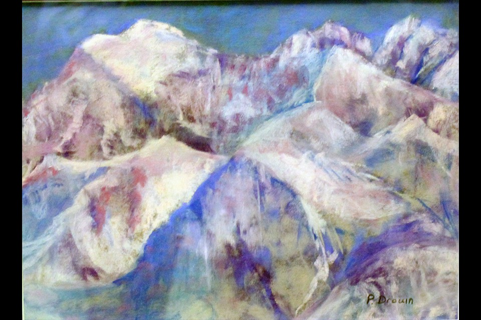 Mountains of Majesty by Phyllis Drouin