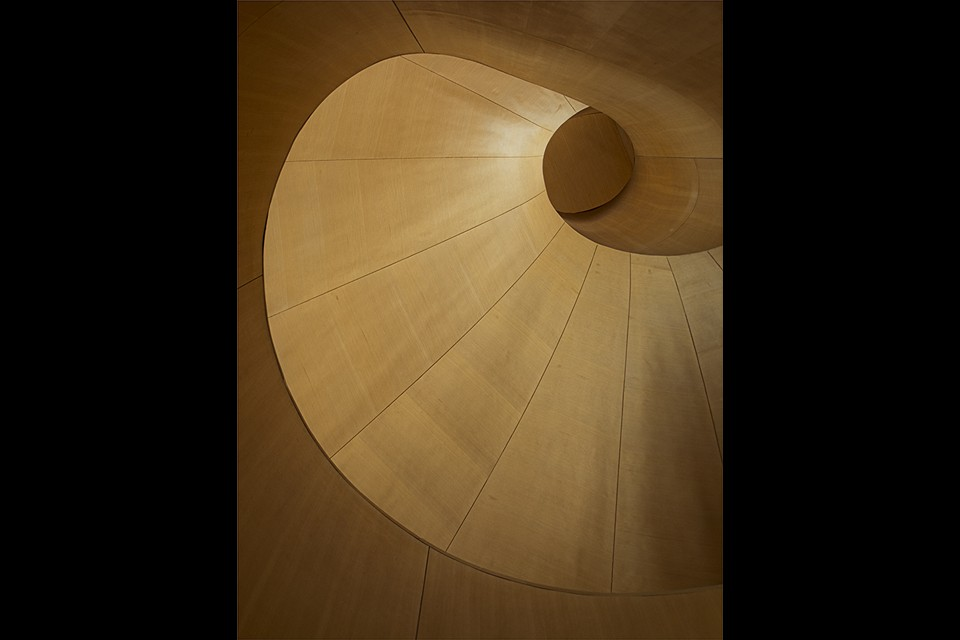 Gehry Staircase by Pam Grafstein