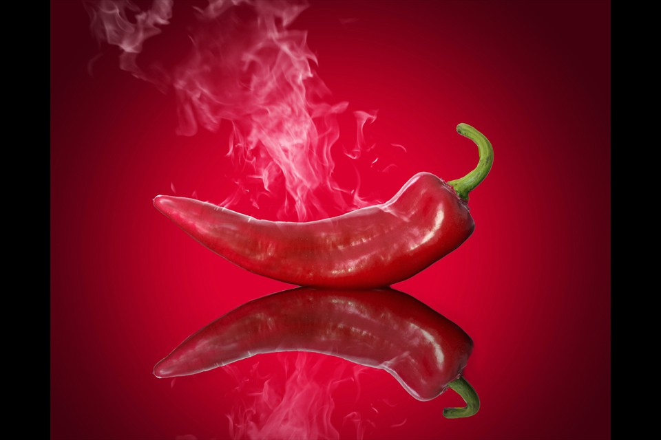 Red Hot Chili Pepper by Eleanor Bortnick